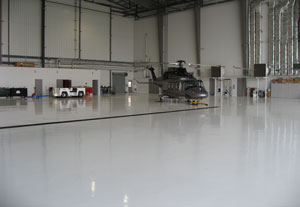 "Concrete floors in general terms can ""take a beating"" throughout their service life."